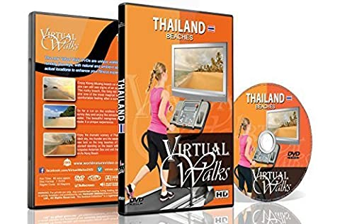 Virtual Walks - Thailand Beaches for Indoor Walking, Treadmill and Cycling Workouts (Virtual Fitness Dvds)