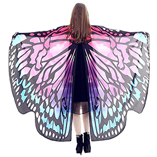 Halloween Costume Party Prop Egypt Dancing Costume Butterfly Wings Accessories(AC,one Size)