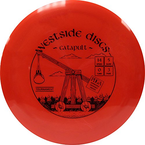 Westside Discs Tournament Catapult Distance Driver Golf Disc [Colors May Vary] - 170-172g