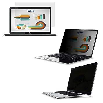 befon Premium - Filtro de privacidad y Protector de Pantalla para Ordenador portátil 277x156mm(12.5