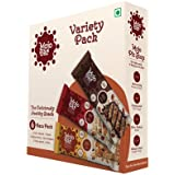 Mojo Bar Snack Bars, Choco Almond, Yoghurt Berry and Nutty Apricot, 210g (Pack of 6)