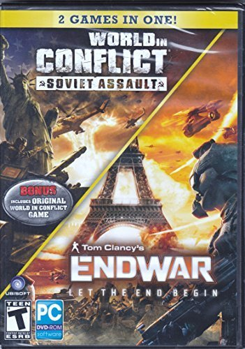 World in Conflict : Soviet Assault and Tom Clancys Endwar - Let the End Begin - Game DVD (2 Games in One)