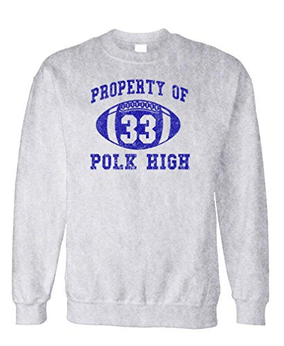 POLK HIGH - Funny BUNDY Football Champ 33 - Fleece Sweatshirt, XL, - Christmas Bundy Al