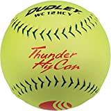 Dudley USSSA Thunder Hycon Slow Pitch Softball - Composite Cover - 12 pack