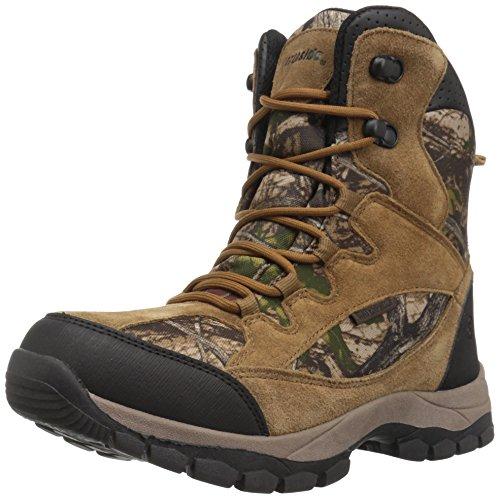 Northside Boys' Renegade 400 Hiking Boot, Tan Camo, Size 4 Medium US Big Kid