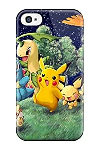 Tpu Case For Iphone 4/4s With Pokemon
