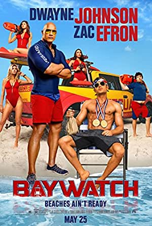 "Baywatch - Authentic Original 27"" x 40"" Movie Poster"