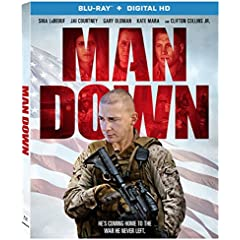 MAN DOWN - Starring Shia LaBeouf and Gary Oldman - On Blu-ray and DVD March 7 from Lionsgate