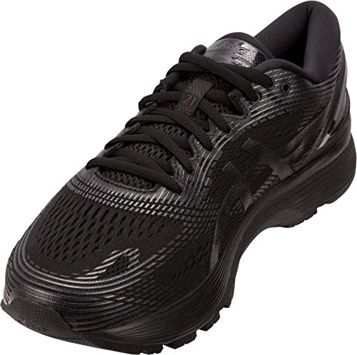 ASICS Gel-Nimbus 21 Men's Running Shoe, Black/Black, 7 D US by ASICS (Image #2)