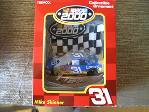 (Nascar Collectible Ornament Mike Skinner #31 Nascar Collection 2000 Collectible Ornament #31 Mike Skinner Trevco 1999 Winner Thunder Special Japan 1997 Winner Thunder Special Japan 1997 Winston Cup Rookie of the Year 1995 Nascar Craftsman Truck Series Inaugural Champion. Nascar 2000 Collectible Ornament Mike Skinner #31 Lowes Car )