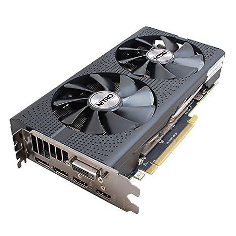 Sapphire Nitro Radeon RX 480 4GB D5 OC Radeon RX 480 4GB GDDR5 - Tarjeta gráfica (AMD, Radeon RX 480, 3840 x 2160 Pixeles, 1306 MHz, 4 GB, GDDR5)