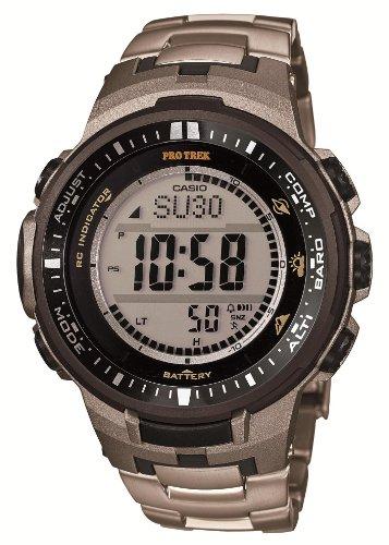 Casio PROTREK Triple Sensor Ver.3 Tough Solar MULTIBAND 6 PRW-3000T-7JF Men's Watch (Japan Import)