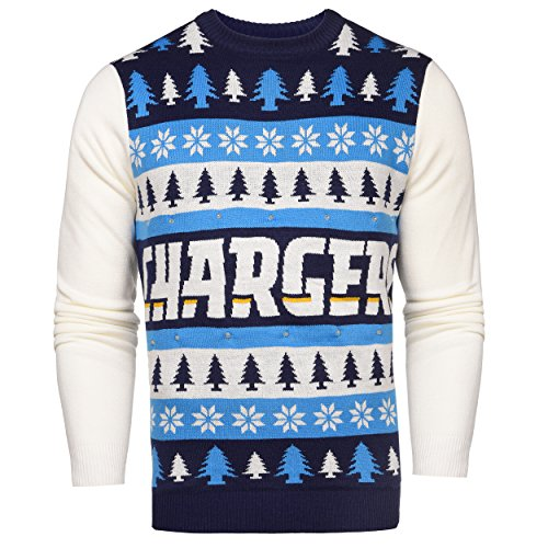 NFL San Diego Chargers Light-UpUgly Sweater