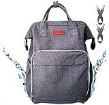 Lukkuma Baby Backpack Diaper Bag Large Capacity Organizer Ideal for Travel Mom