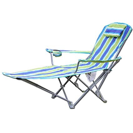 Amazon.com: Deck chair Patio Reclining Chairs Sun Loungers ...