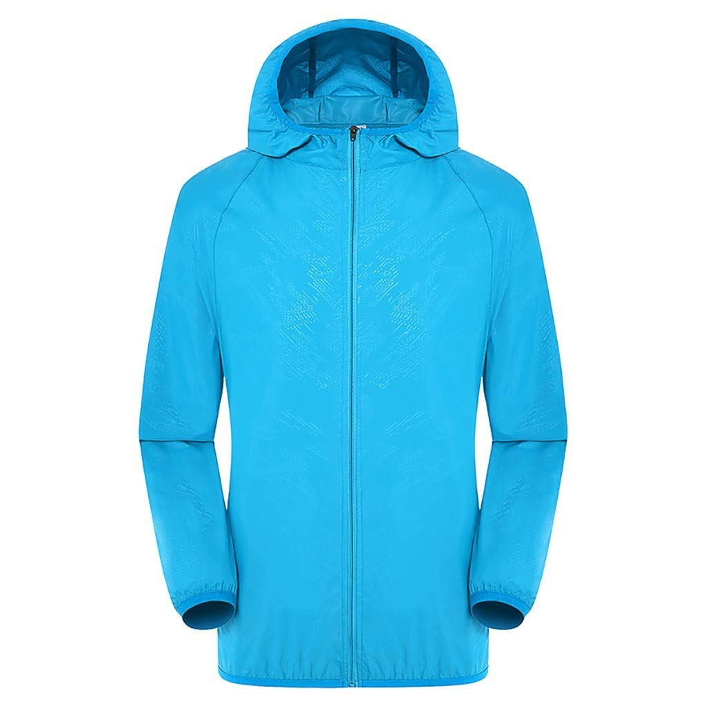 Tantisy ♣↭♣ Workwear Equipped Cooling Jacket Fan Pack for Summer Outdoors Air-Conditioned Clothes Unisex Available Blue