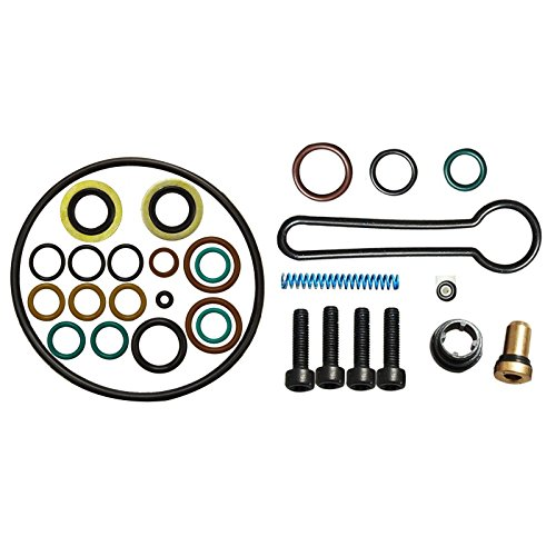 Fuel Injection Update Kit (yjracing Fuel Injector Rail Pressure Spring Update Kit Fit For 03-07 Ford 6.0L Powerstroke Diesel Blue)