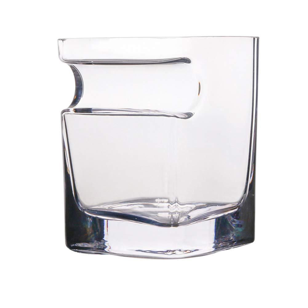 Topbeu 320ML Transparent Glass Wine Cup Whiskey Glass for Home and Bar