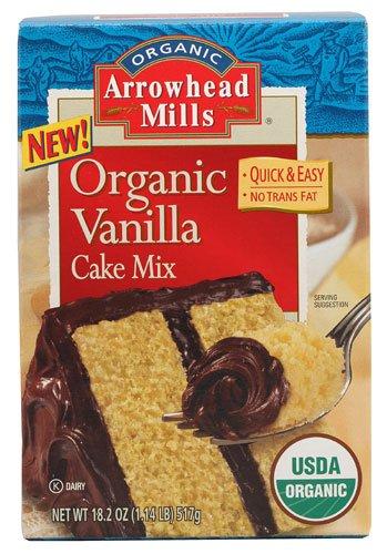 arrowhead mills vanilla cake mix - 5
