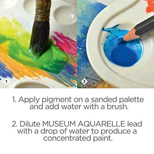 Caran D'Ache Museum Aquarelle Pencil 40 Color Set by Caran d'Ache (Image #3)