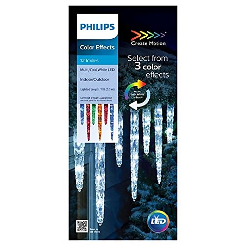 Led Icicle Lights Philips in US - 6