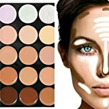BOOLAVARD Professional 15 Colors Women Cosmetic Makeup Neutral Nudes Warm Eyeshadow Palette