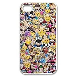 Funny Emoji CUSTOM For Ipod Touch 5 Case Cover LMc-32162 at LaiMc