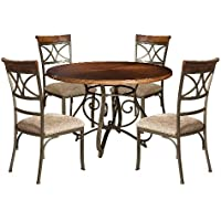 Powell 697-413M1 Hamilton Dining Set, 5-Piece