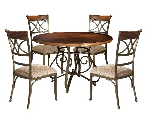 Powell Dining Table Set (Powell 697-413M1 Hamilton Dining Set, 5-Piece)