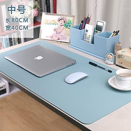 C,8040 Desk Pad Writing Pad office desktop PC Mouse Pad oversized solid color
