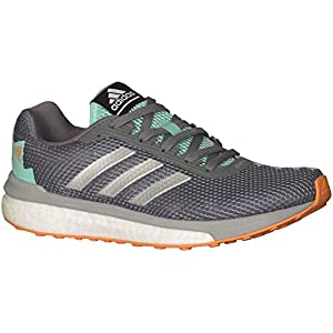 Adidas Women's Vengeful Running Shoes Vista Grey/Metallic Silver/Easy Green 7.5 B(M) US