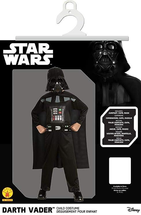 Desconocido Niño traje de Darth Vader| el tamaño de 128/134