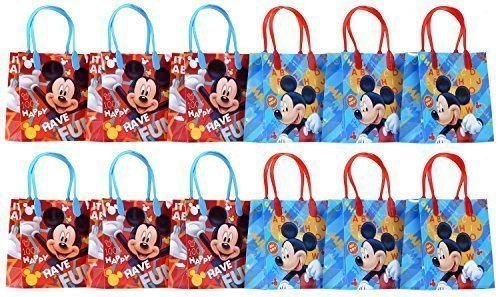 Disney Mickey Mouse Party Favor Goodie Gift Bag - 6