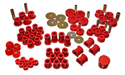 Energy Suspension 8.18102R HYPER-FLEX SYSTEM Complete Master Bushing Set 1979-1985 Toyota Pickup