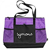 Symone Dance Bag: Gemline Select Zippered Tote Bag
