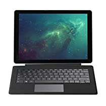 CHUWI Hi10 Plus Windows 10/Android 5.1 Ultrabook 2-in-1 Tablet PC, Bluetooth 4.0 Wi-Fi 10.8 Full HD Display, Intel X5 Cherry Trail Z8350 Quad Core, 4GB RAM/64GB ROM (Grey) …
