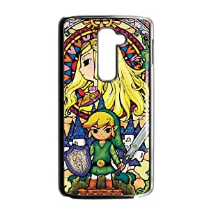 LG G2 Cell Phone Case Black Legend of Zelda biui