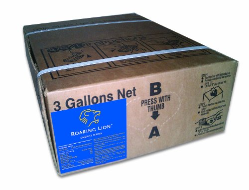 Roaring Lion Bag-in-a-Box (3-Gallon Unit) (Roaring Lion Energy Drink compare prices)