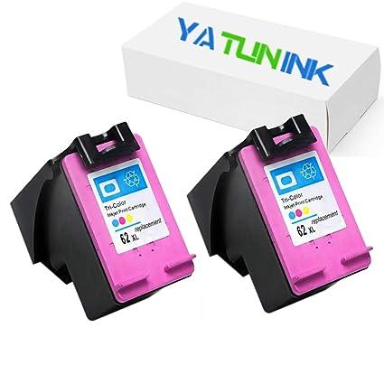 yatunink 2 unidades, 62 x l Tri-color cartucho de tinta ...