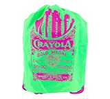 Crayola Neon Drawstring Bag