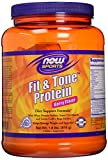 NOW Sports Fit & Tone Protein Berry Flavor Powder,1.8-Pound
