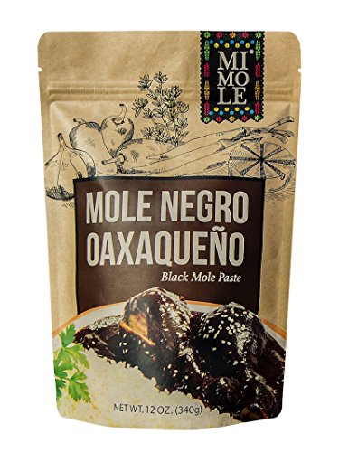 Mi Mole Negro Oaxaqueno, Black Mole Paste, 12 Oz