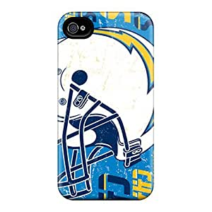 Defender Case With Nice Appearance (san Diego Chargers) For Iphone 4/4s