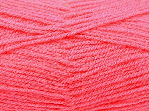 King Cole Pricewise Knitting Yarn DK 77 Lipstick - per 100 gram ball