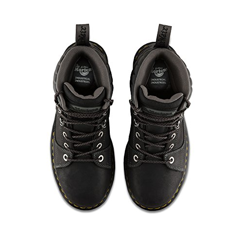 Tie 8 Boot Camber Safety M 10 UK F US M 11 Mens Black Dr Toe D Martens XqYwU0