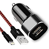 Best I Phone 5 Cords - Ulimag Phone Car Charger, 24W/4.8A Rapid Dual Port Review