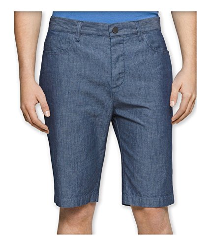 Calvin Klein Jeans Men's Short 38, Blue Chambray, 38W by Calvin Klein