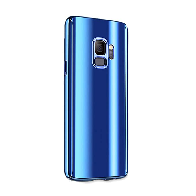 63ed88fe51b Compatible con Galaxy S7/ S7 Edge Funda, caja de metal chapado Funda  ultrafino para