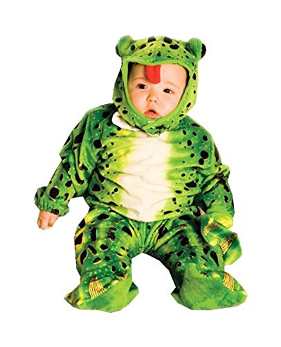 UHC Baby's Frog Plush Green Infant Toddler Outfit Child Halloween Costume, 18-24M - Frog Plush Green Infant & Toddler Costumes