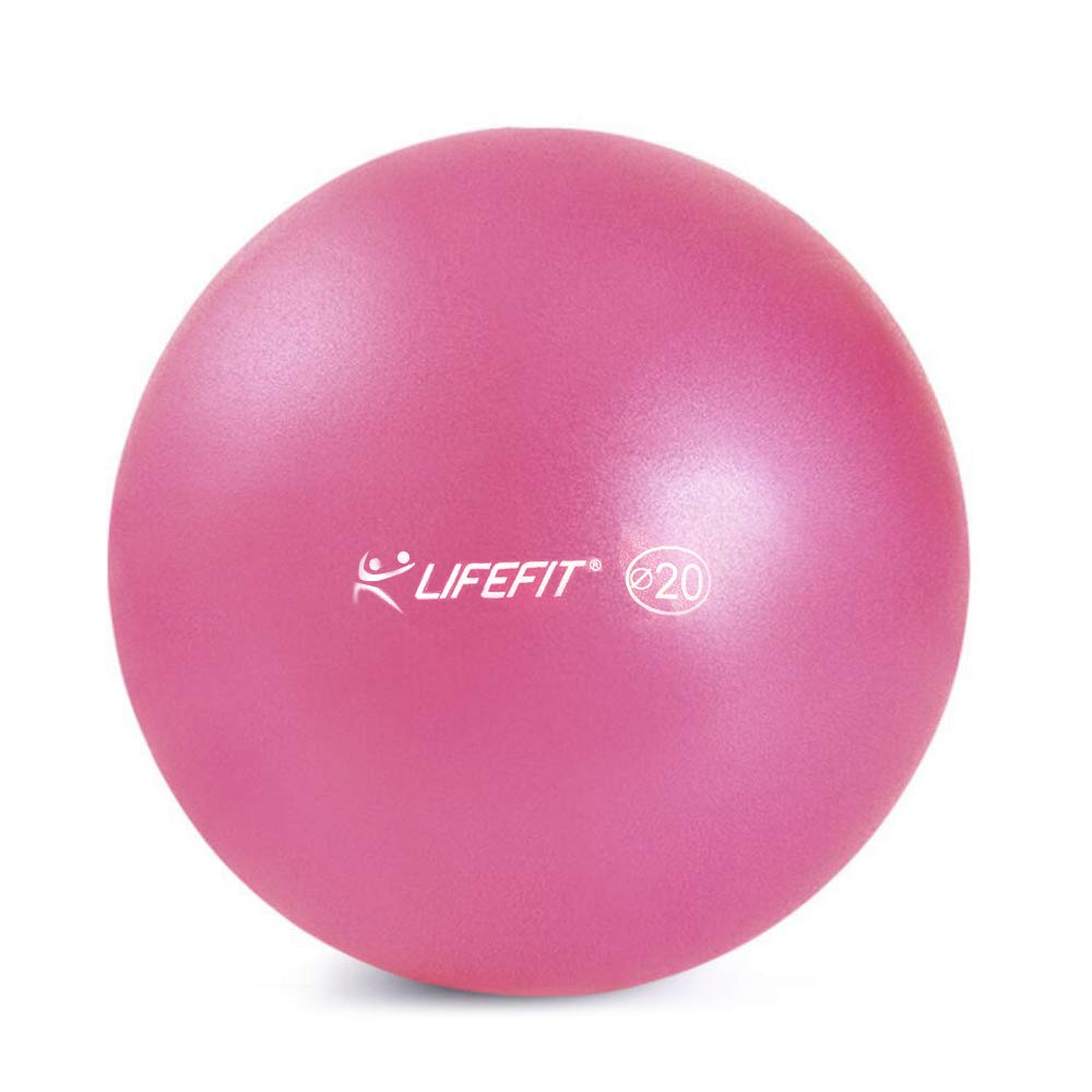 Elightry Ballon de Fitness Epais Exercice de Yoga Gym Stabilit/é Anti-Explosion Rose 20cm